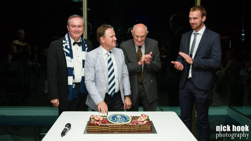 Panthers Celebrate Success of Blue & White Ball