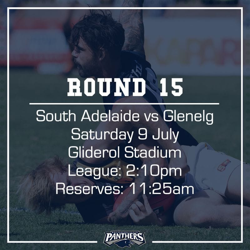 Round 15: South vs Glenelg - Teams
