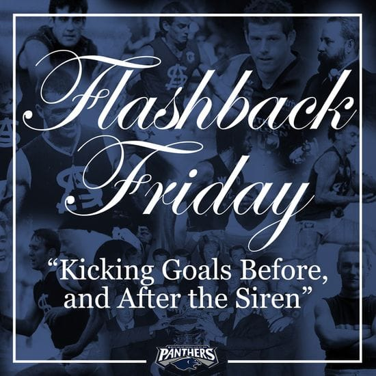Flashback Friday: Kicking Goals Before, and After the Siren