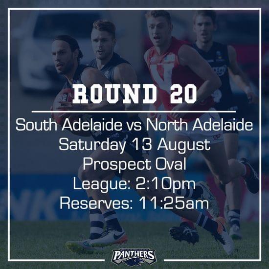 Round 20: South vs North - Teams
