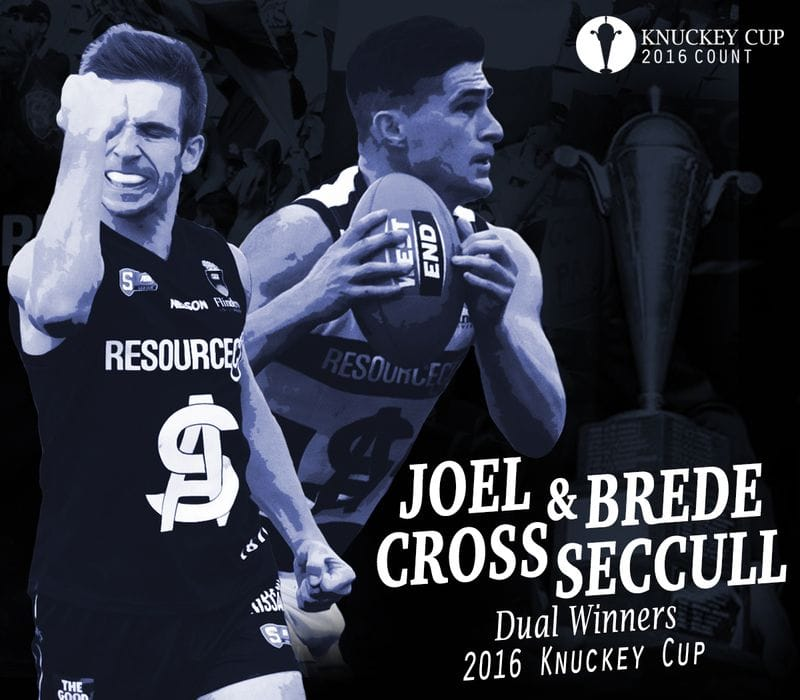 Joel Cross and Brede Seccull Claim 2016 Knuckey Cup