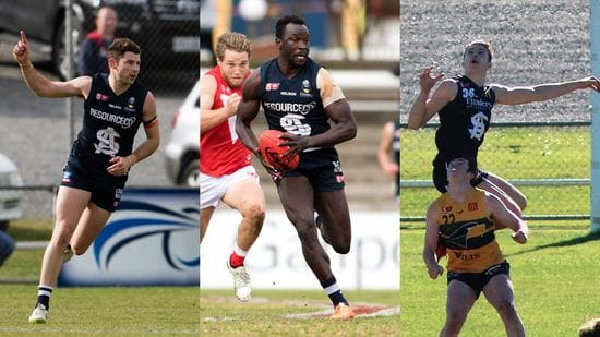 Three Panthers Selected in AFL Rookie Draft