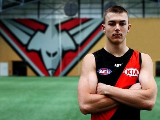 Sam Draper speaks to PantherTV about being rookie listed to Essendon