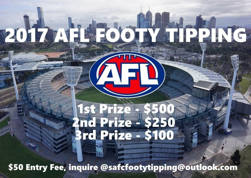 South Adelaide Footy Tipping - Cash Prizes!