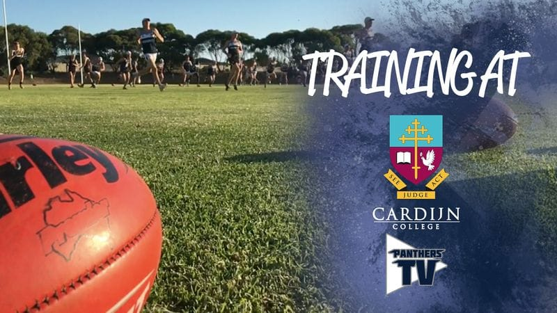 PantherTV: Preseason training at Cardijn College