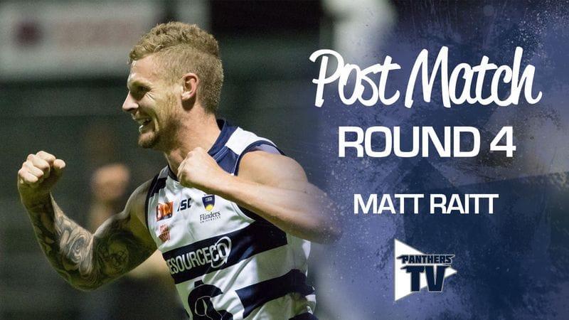 Panthers TV: Matt Raitt - Post Match Rd 4