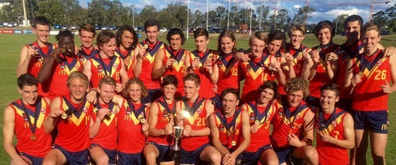 South Adelaide Quintet Named to U16 State Squad