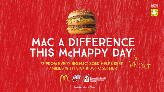 Building Burgers for McHappy Day