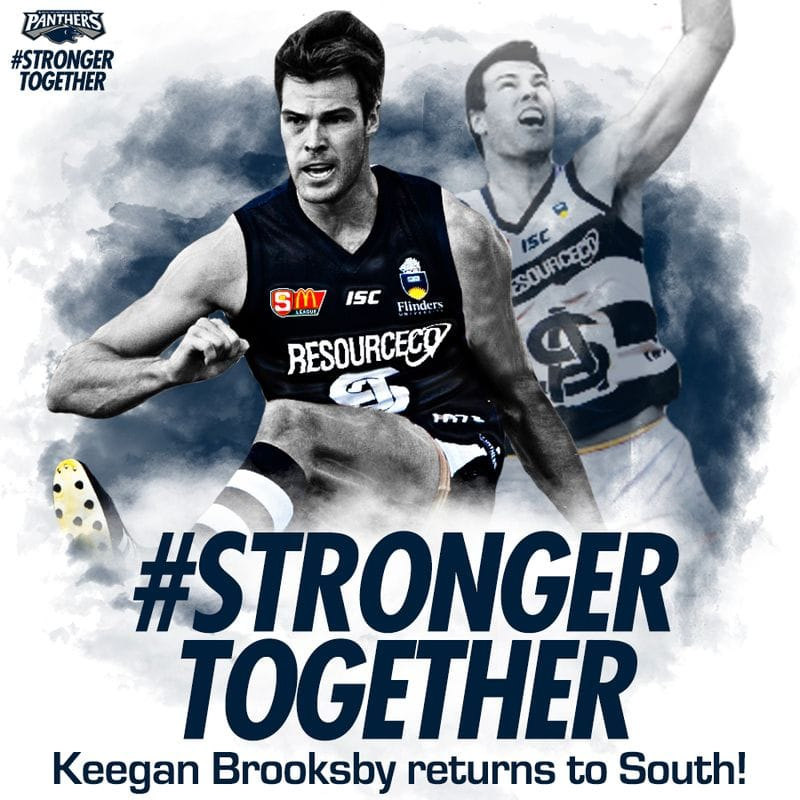 Keegan Brooksby returns to South Adelaide