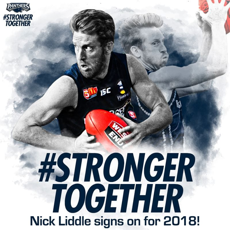 Nick Liddle to Play On in 2018!