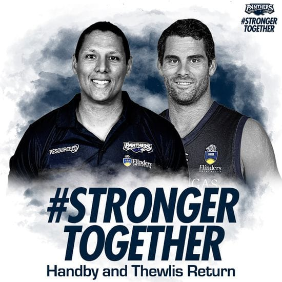 Handby and Thewlis return to Hickinbotham Oval