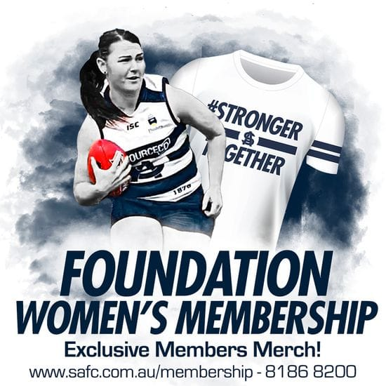 Foundation Women's Membership Available Now!