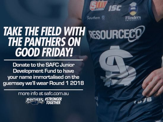 Take the Field with the Panthers on Good Friday!