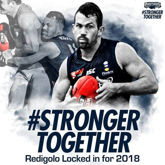 Tarak Redigolo locked in for 2018