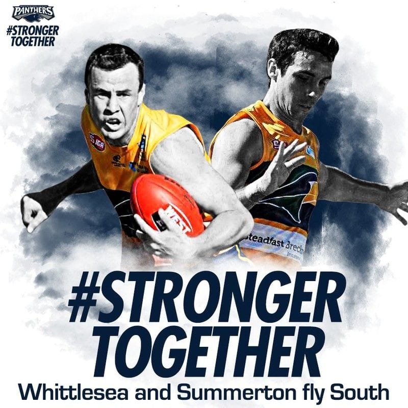 Pair of Eagles fly South for 2018
