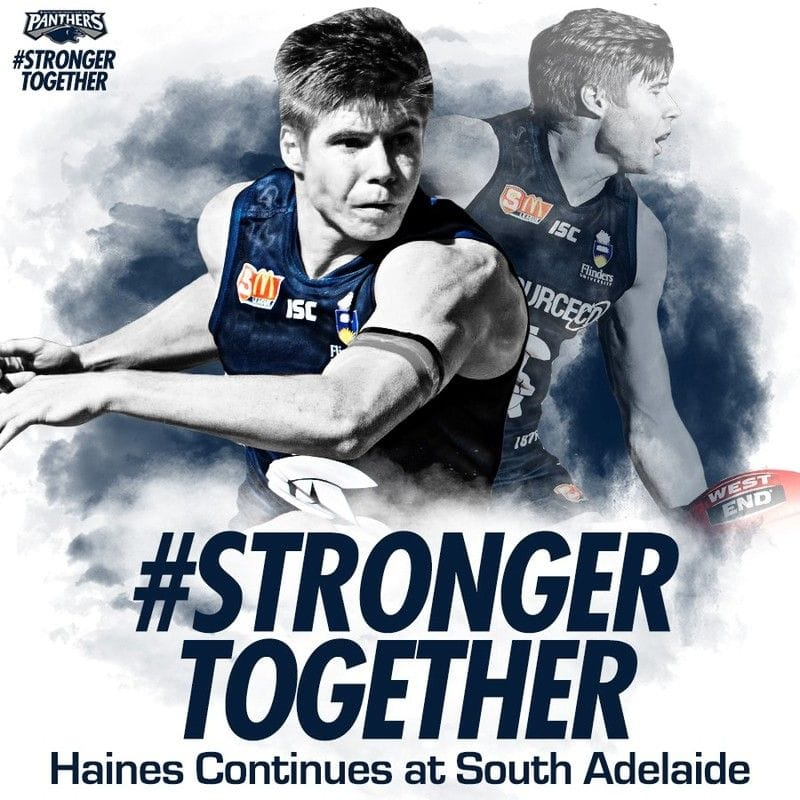 Joseph Haines Continues Family Legacy at South Adelaide