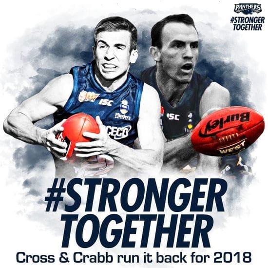 Cross & Crabb run it back in 2018!