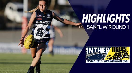 Panthers TV: SANFL W Round 1 Highlights - South Adelaide Vs Glenelg