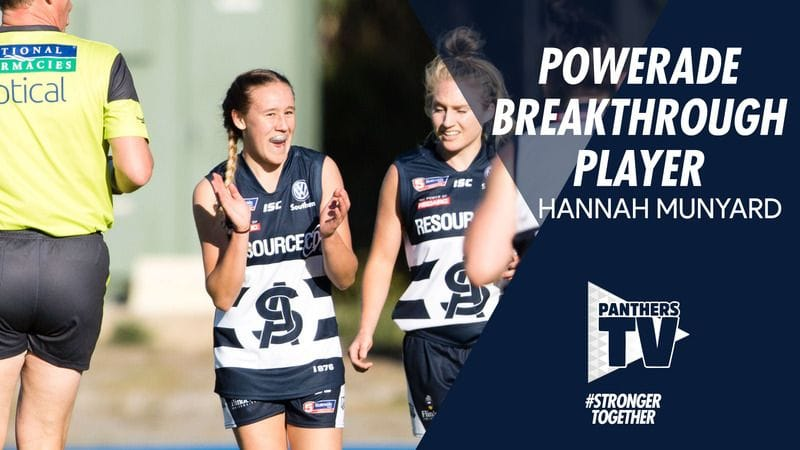 Panthers TV: Powerade Breakthrough Player - Hannah Munyard