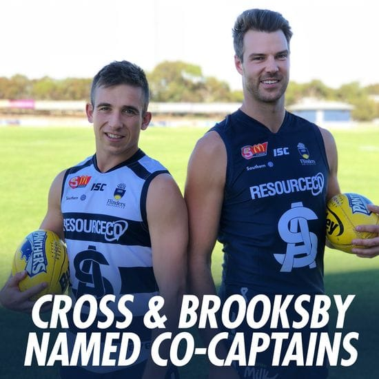 Joel Cross and Keegan Brooksby to Co-Captain Panthers in 2018