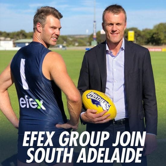 EFEX Group Boost South Adelaide On & Off the Field