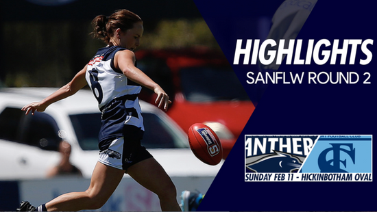 Panthers TV: SANFLW Round 2 highlights- South Adelaide Vs Sturt