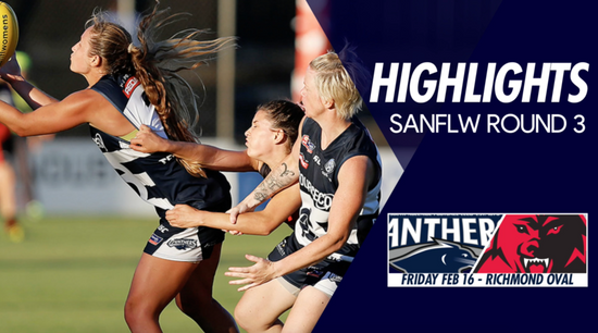 Panthers TV: SANFLW Round 3 highlights- South Adelaide Vs West Adelaide