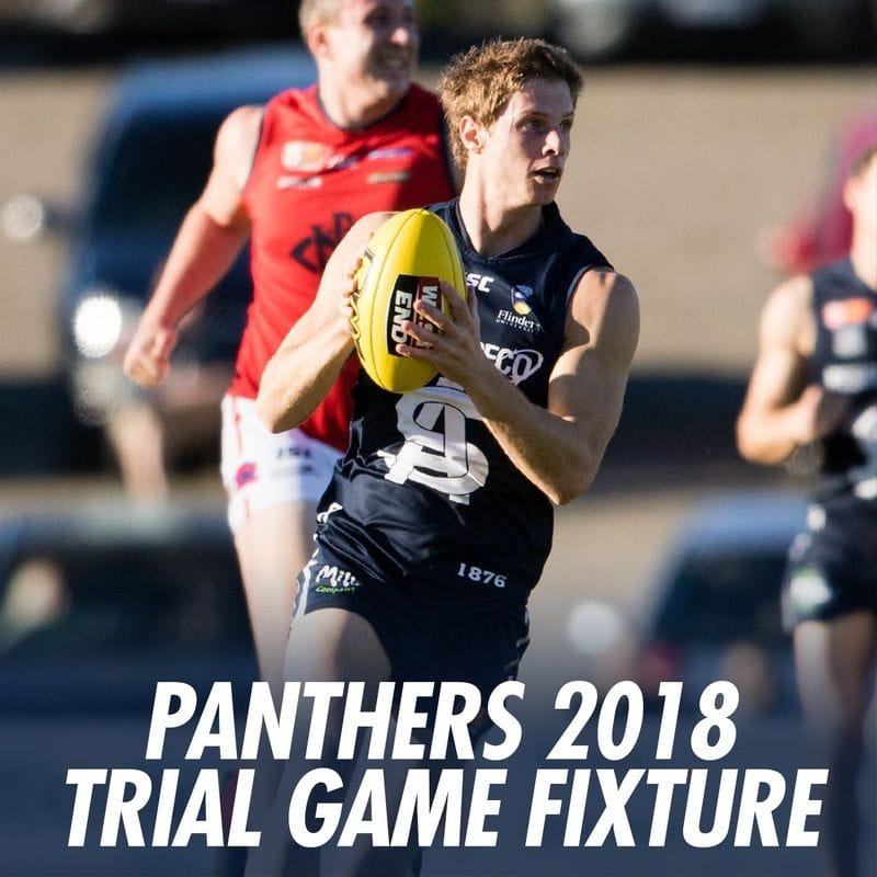 2018 Trial Game Fixture