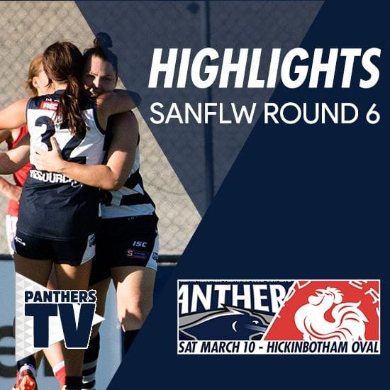 Panthers TV: SANFLW Round 6 highlights- South Adelaide Vs North Adelaide
