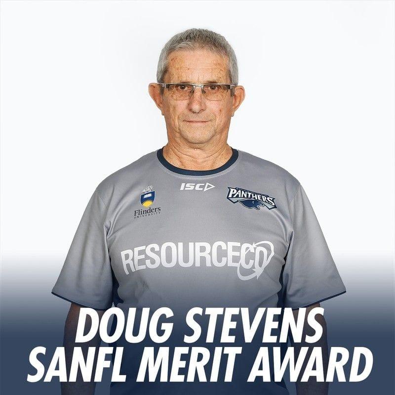 Doug Stevens Receives SANFL Merit Award