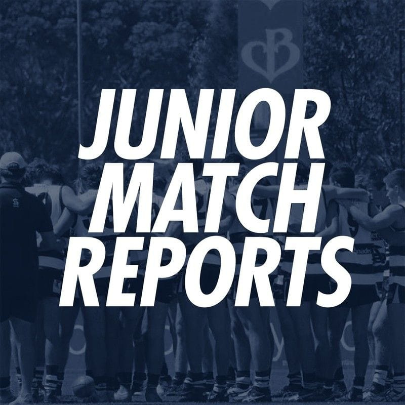 Junior Match Reports: Under 16s Round 1