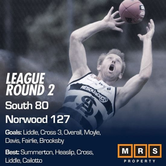 League Match Report - Round 2 - South Adelaide vs Norwood