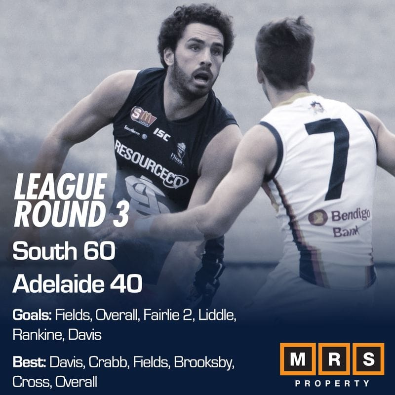 League Match Report - Round 3 - South Adelaide vs Adelaide