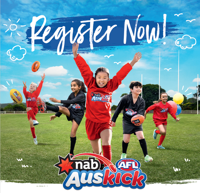 Register for Term 2 Auskick
