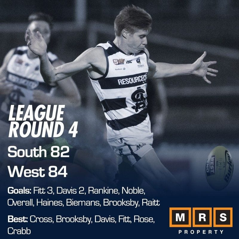 League Match Report: Round 4 - South Adelaide vs West Adelaide