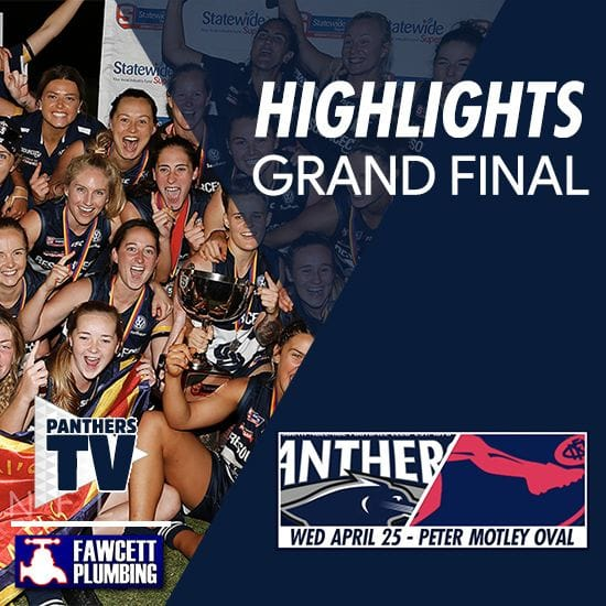 Panthers TV: SANFLW Grand Final highlights- South Adelaide Vs Norwood