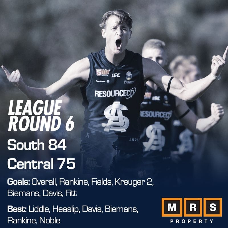 League Match Report - Round 6 - South Adelaide vs Central District