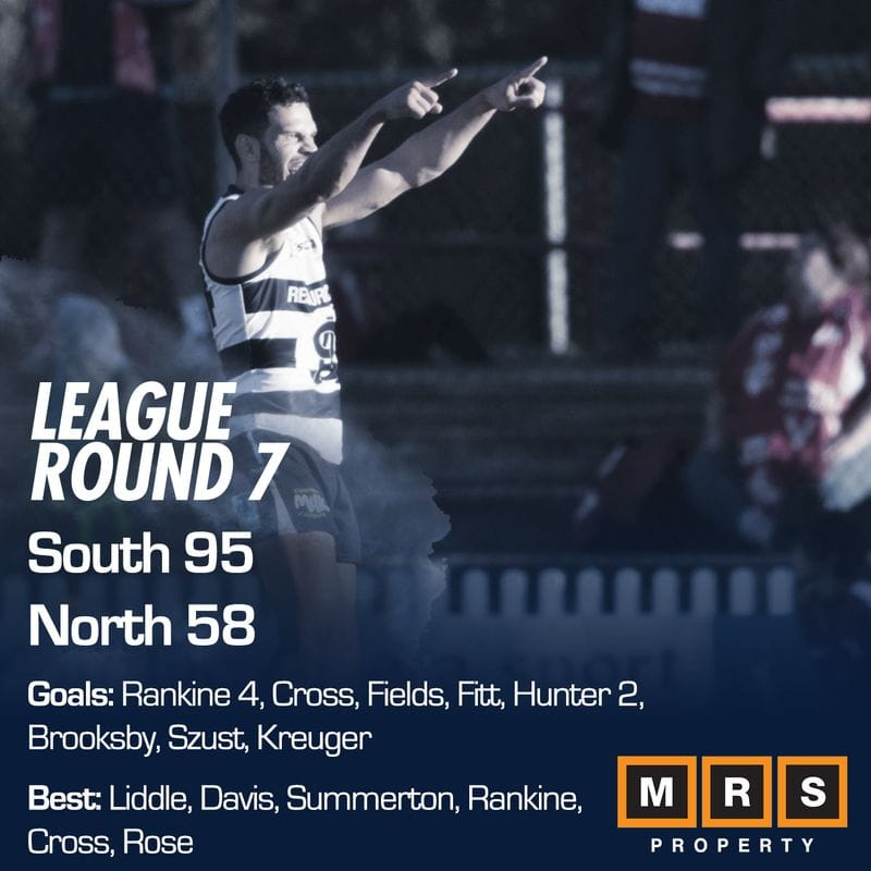 League Match Report - Round 7 - South Adelaide vs North Adelaide