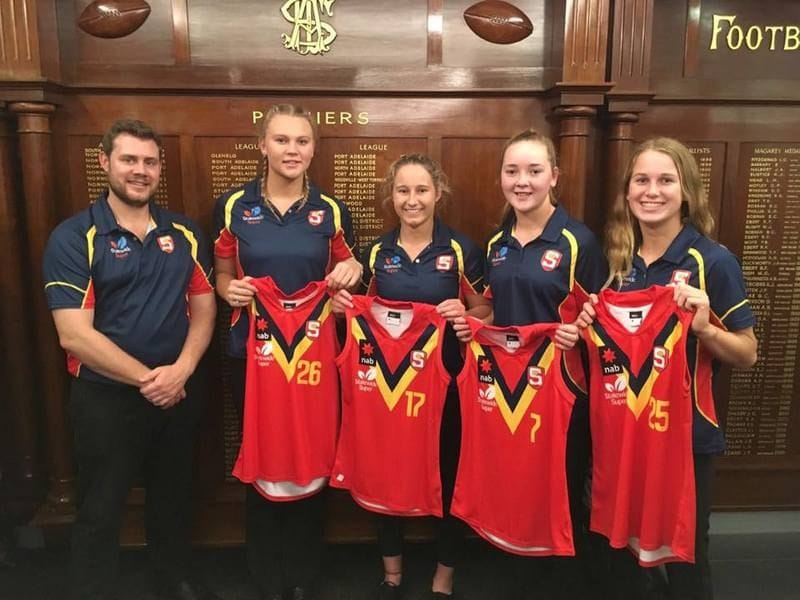 Four Panthers Named in SA U18 Girls Squad