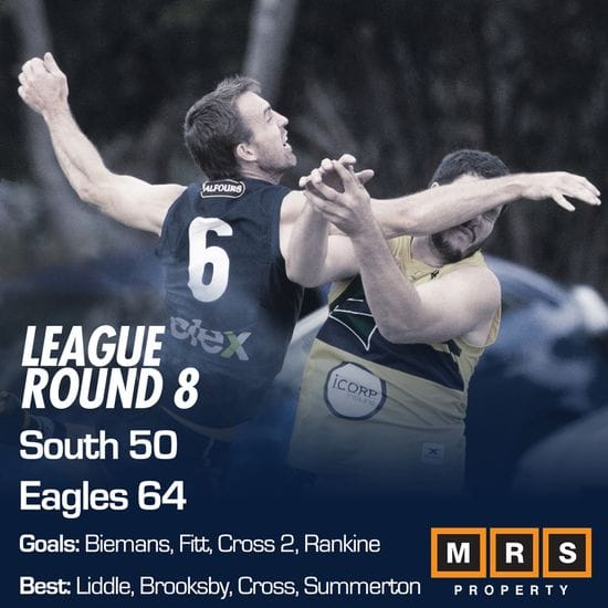 League Match Report - Round 8 - South Adelaide vs Eagles
