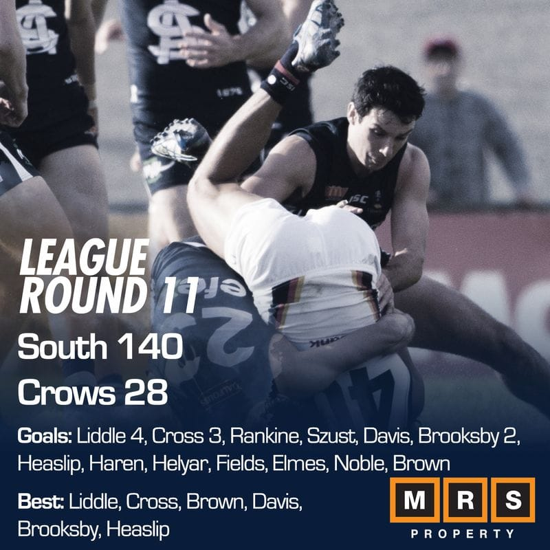 League Match Report - Round 11 - South Adelaide vs Adelaide