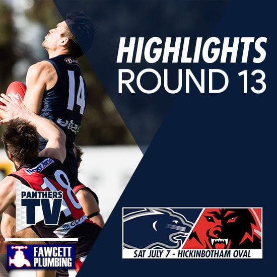 PanthersTV: Round 13 Highlights - South Adelaide Vs West Adelaide