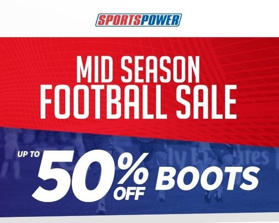 Mid Season Football Sale!