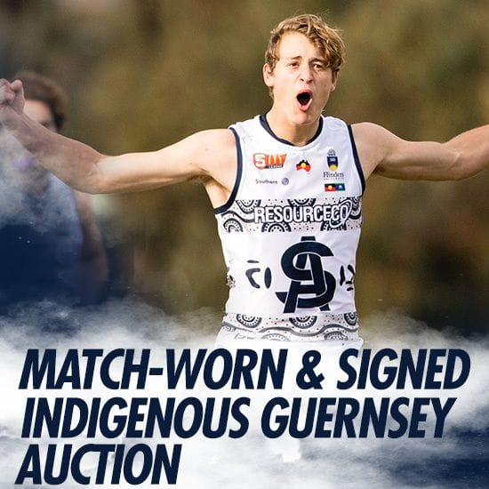 2018 Match-worn Indigenous Guernseys available for purchase!