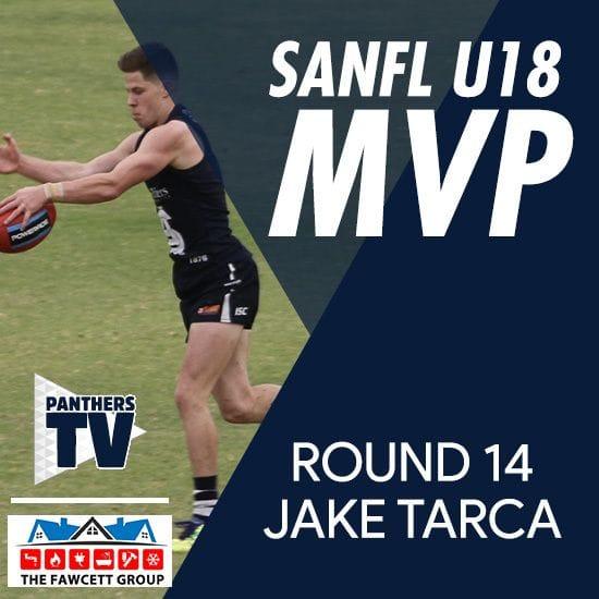 PanthersTV: SANFL U18 MVP - Jake Tarca