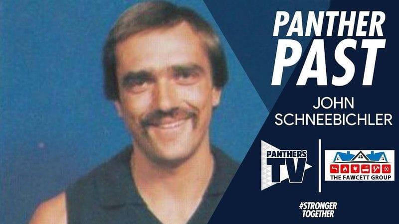 Panthers Past - John Schneebichler