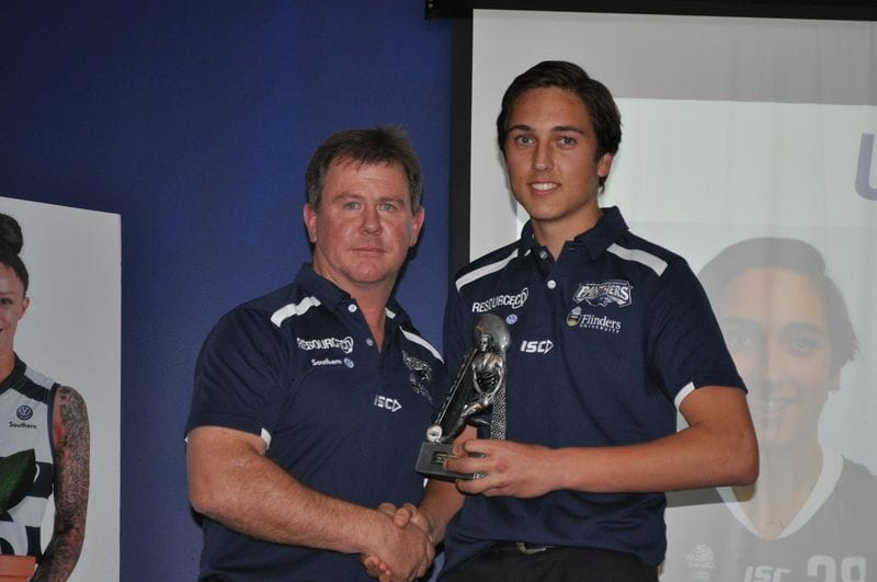2018 U16 and Development Squads Presentation Night Award Winners