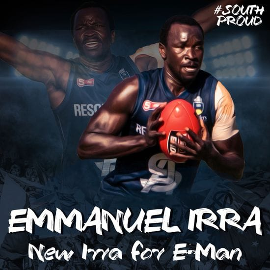 New Irra for E-Man at South Adelaide
