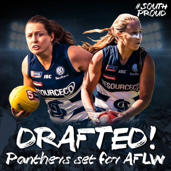 Gore and Whiteley picked up in AFLW Draft