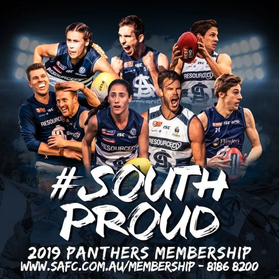 2019 Panthers Membership Available Now! #SouthProud